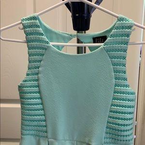 cute mint green xs-s dress